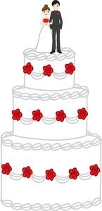 Wedding Cake clipart wedding dinner Wedding Image: Clipart Cake Clipart