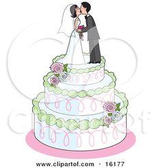 Wedding Cake clipart wedding food Art cake Illustrations  clipart