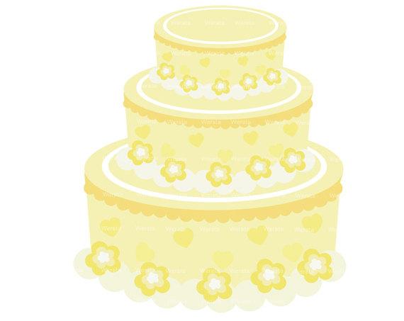 Wedding Cake clipart yellow Cake Clipart Wedding Cake Clipartion
