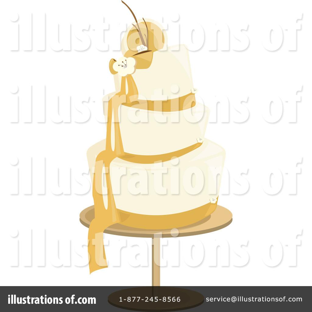 Wedding Cake clipart yellow Free (RF) Randomway Illustration by