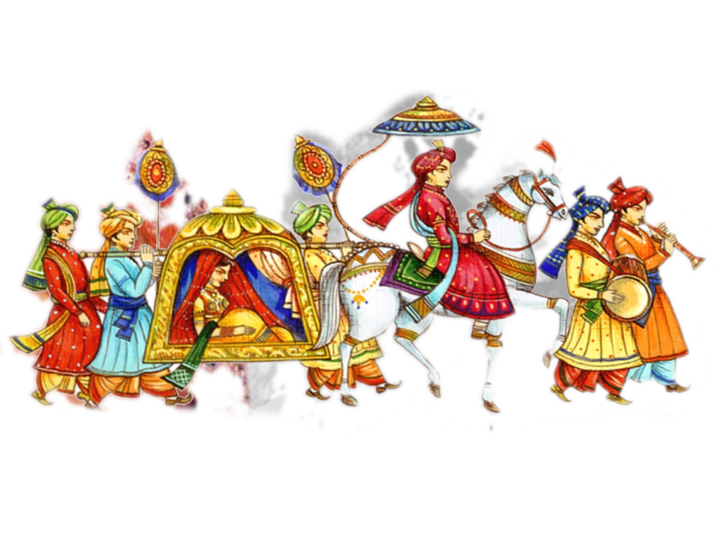 Indian clipart baraat Images free Art In