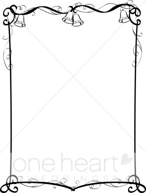 Wedding clipart boarder Bells Wedding and Border Bells