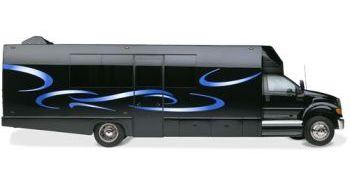 Wedding clipart bus 24 Wedding bus Limo Bus