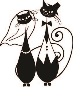 Cat clipart wedding 16  Wedding Cats 892