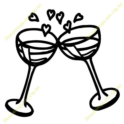 Wedding clipart champagne Champagne Clipart Wedding Glasses Wedding
