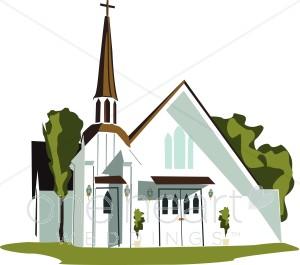 Wedding clipart church Church Religious Church White Wedding
