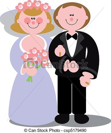 Wedding clipart color  couple couple Wedding 03
