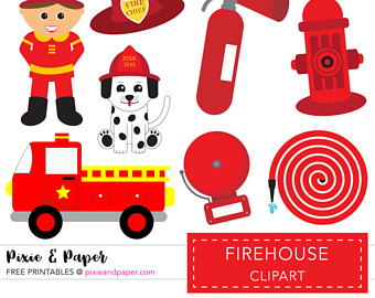 Fire Truck clipart firefighter tool Firetruck Commercial Use Clipart Clip
