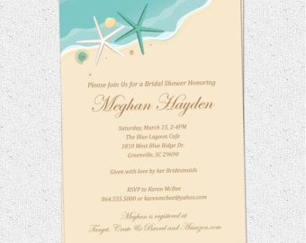 Wedding clipart fishing Surf Sand Shower Bridal Couples