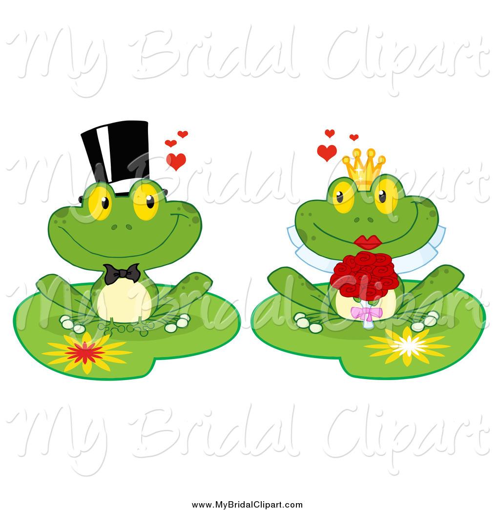 Wedding clipart frog Couple Frog Bridal Couple Bridal