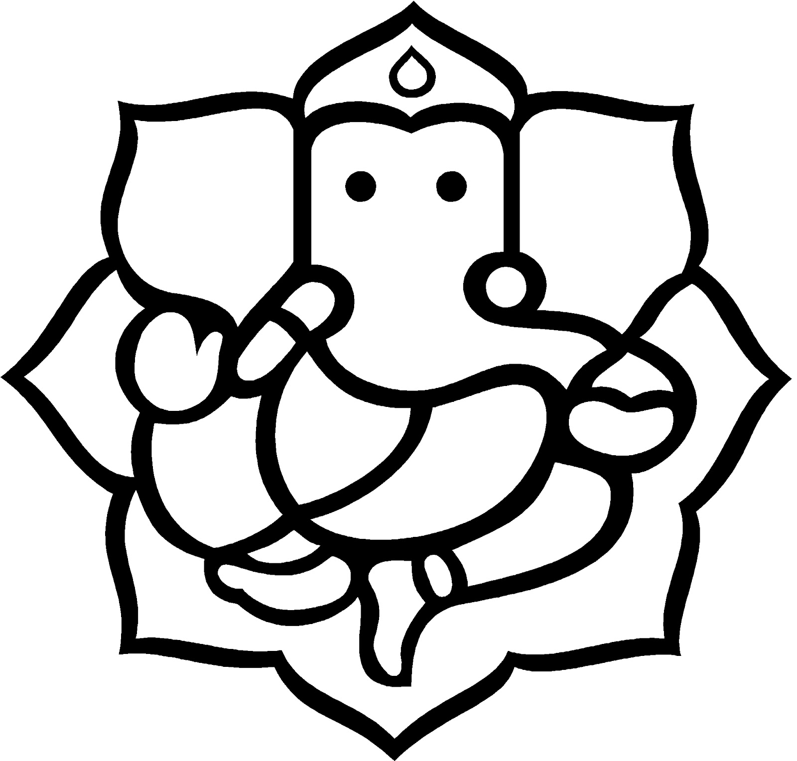 Thanksgiving clipart god Clipart collection Ganpati Free american