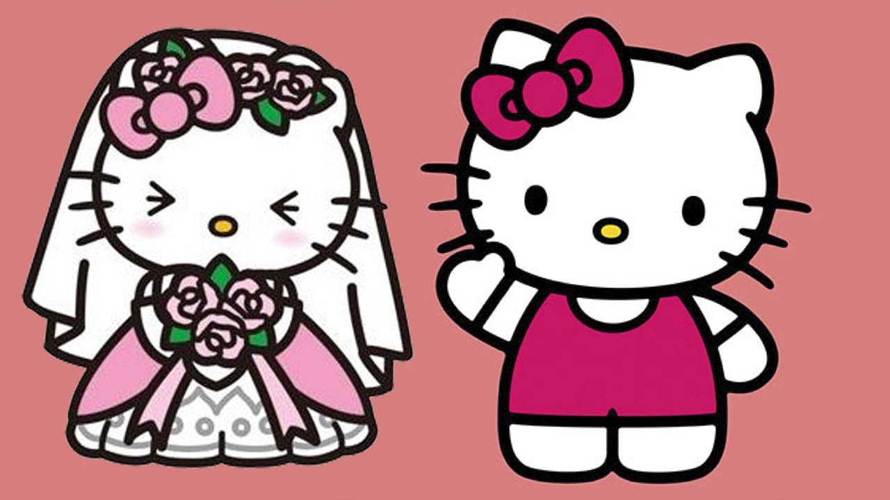 Wedding Dress clipart hello kitty Kitty girls games Hair for