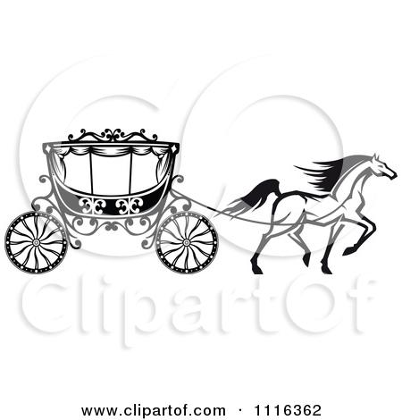 Cart clipart carriage horse Carriages horse clipart of carriage