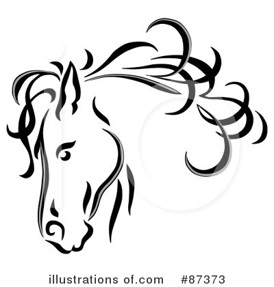 Wedding clipart horse Clipart Free Outline Images Art