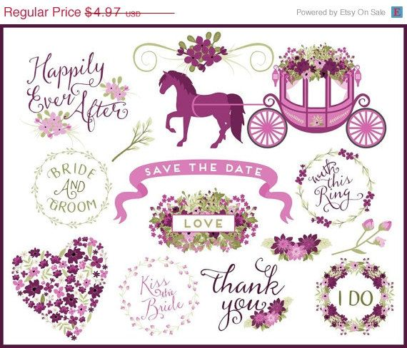 Wedding clipart horse And Pinterest Carriage on Art