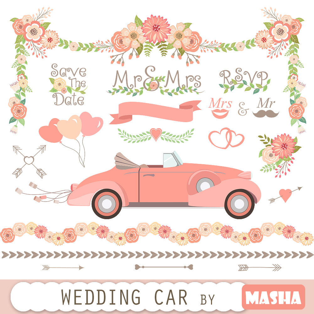 Wedding clipart just married Clipart: Wedding  file CLIPART