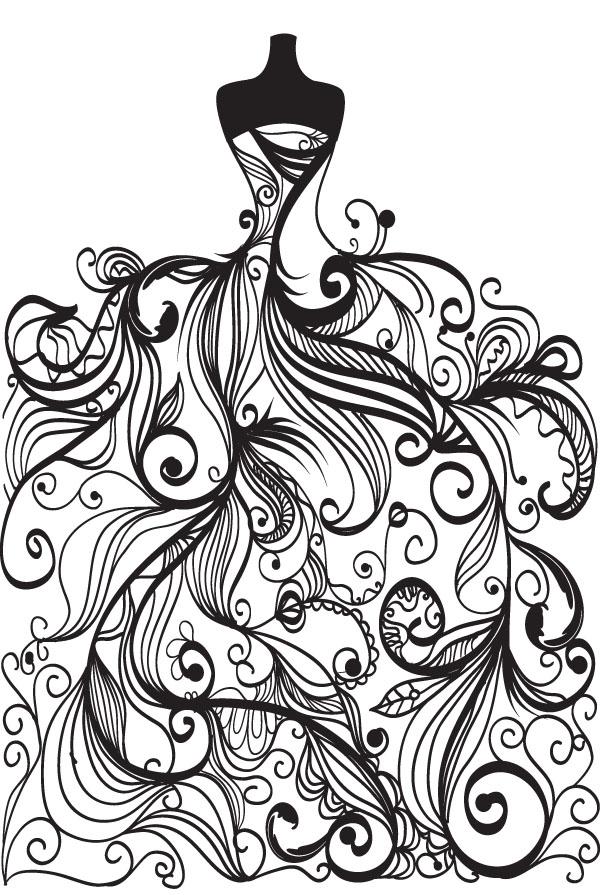 Wedding clipart line art Clip Art Art Delicious Design