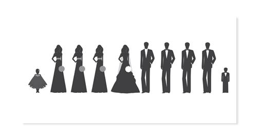 Party clipart wedding party Clipart Art Party Wedding 08