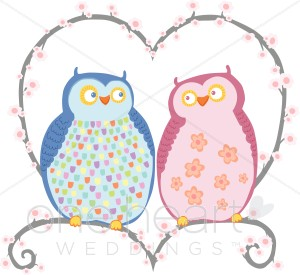 Wedding clipart owls Clipart Love Cute Clipart Owls