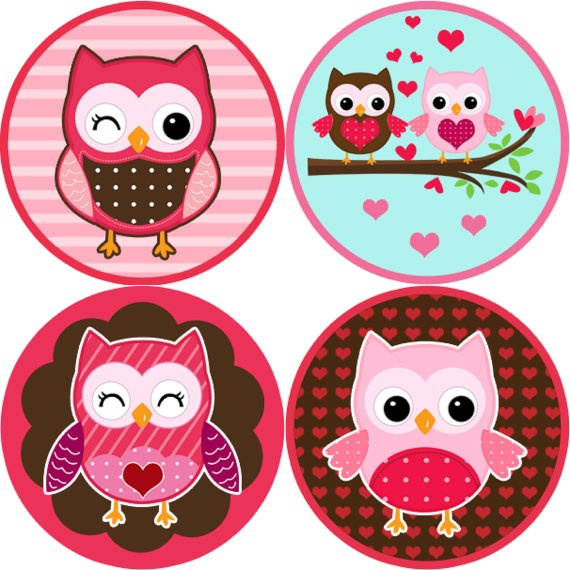 Wedding clipart owls Valentine best Labels Owl images