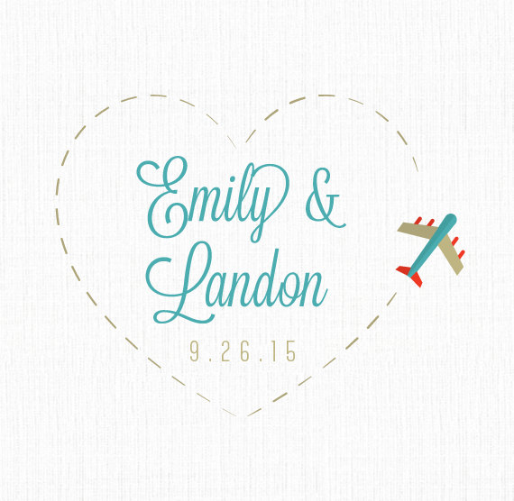 Turquoise clipart destination wedding #2