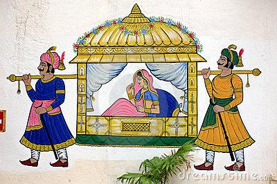 Wedding clipart rajasthani Indian Clipart paintings Indian Palace