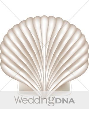 Wedding clipart seashell Seaside  Clipart Seashell Ocean