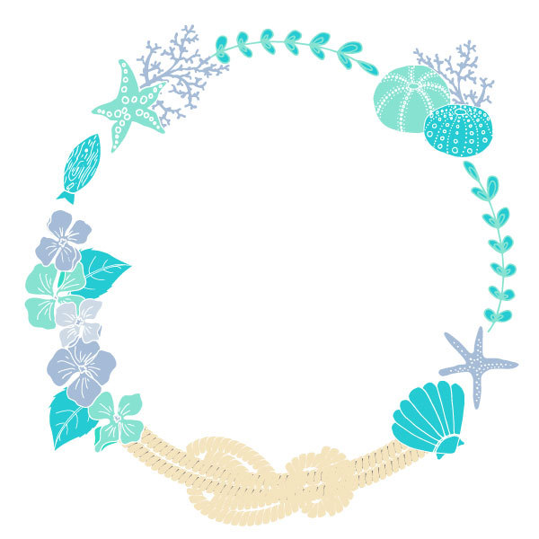 Wedding clipart seashell Invitation Sea Clipart Instant Nautical