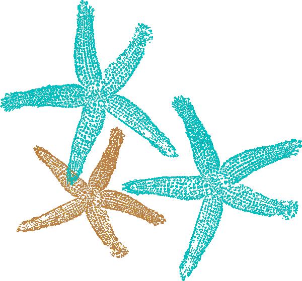 Realistic clipart starfish Starfish clip online starfish Prints