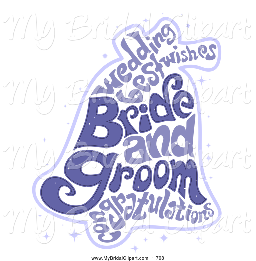 Wedding clipart text Of Marriage Stock Happy Bell