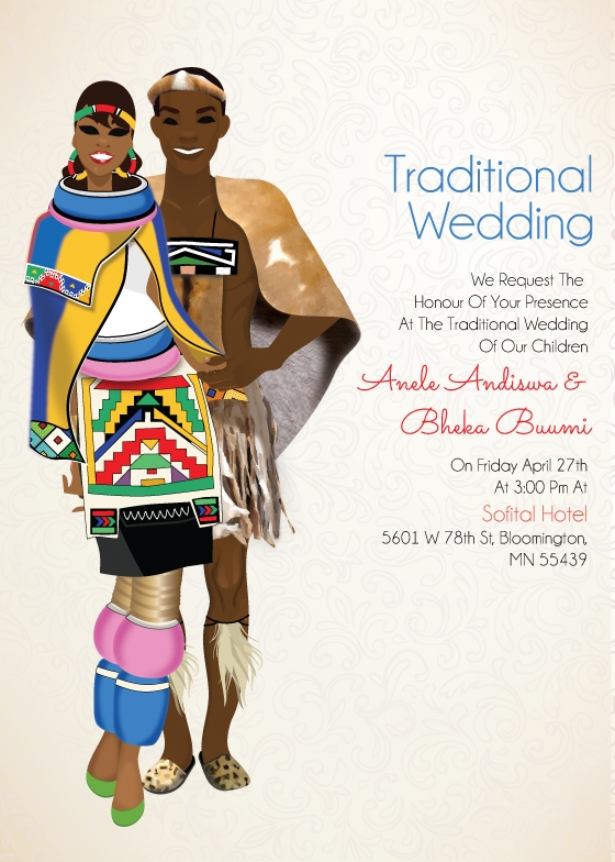 Wedding clipart traditional Traditional South Ndebele South Zulu