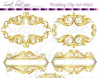 Classic clipart wedding decoration Graphics Frame Decoration Frame Graphics
