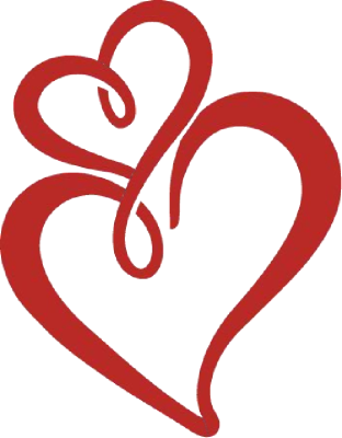 Wedding clipart two heart Free Images two%20hearts%20clipart%20black%20and%20white Panda Clipart