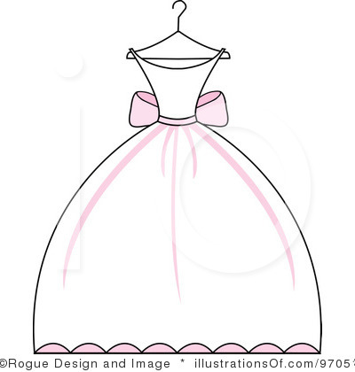 Gown clipart vintage wedding dress Clipart clipart drawings Download #9