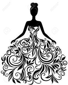 Elegance  clipart cute dress Clipart vestido for INSTANT DOWNLOAD
