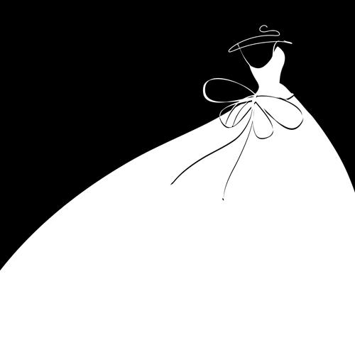Wedding Dress clipart belle Clipart Dress cliparts Silhouette Wedding