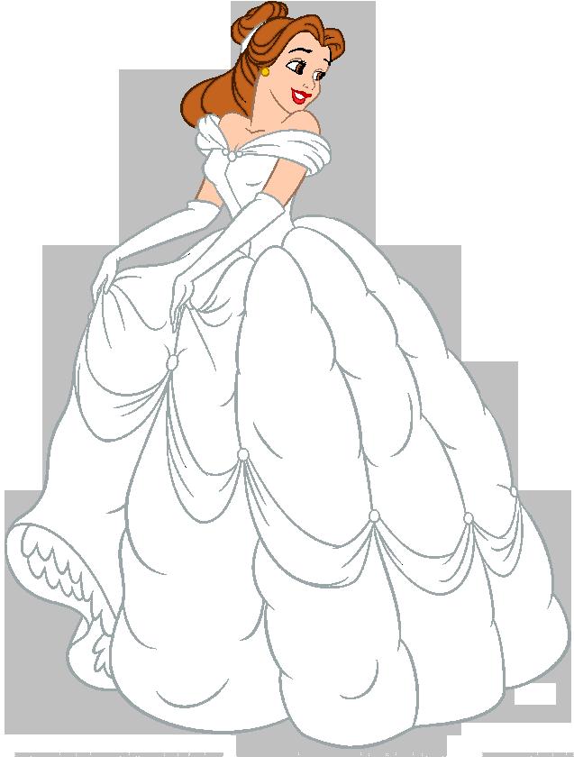 Wedding Dress clipart belle Dress 2 Belle Clipart Wedding