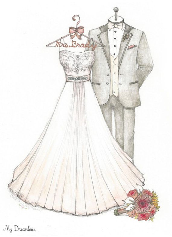 Wedding Dress clipart easy Gift Day From From From