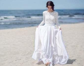 Wedding Dress clipart easy Separates wedding Etsy bridal Eirene