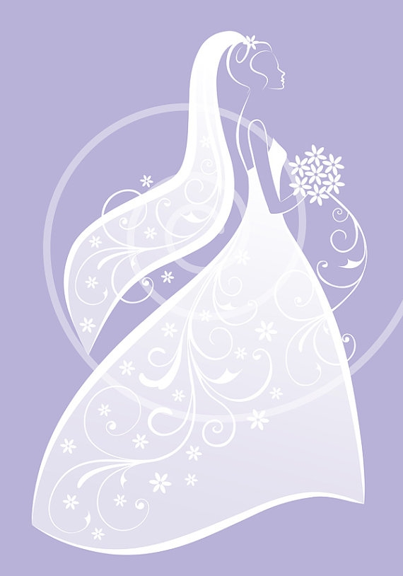 Wedding Dress clipart whimsical Clipartsgram Art Bridal Free Shower