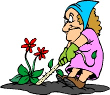 Women clipart gardener Weeding Tools a and Graphics