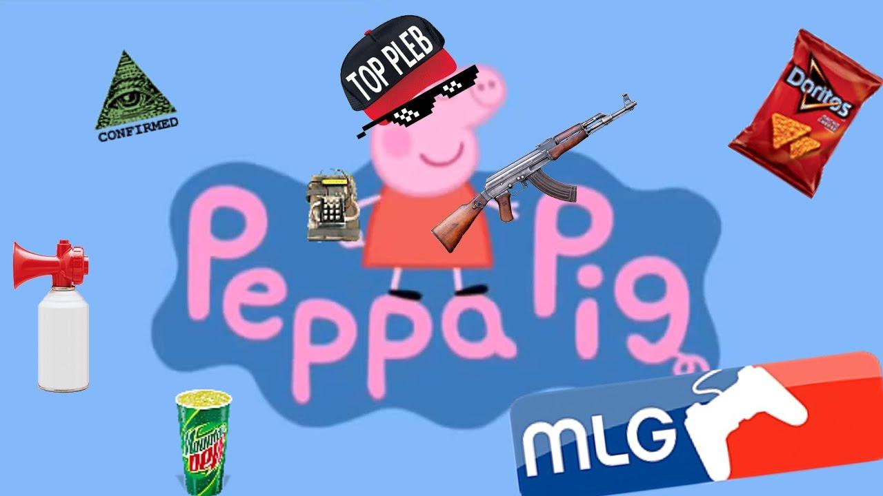 Weed clipart mlg DAY! PEPPA PEPPA WEED MLG