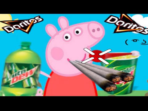 Weed clipart mlg MLG pig peppa bus peppa