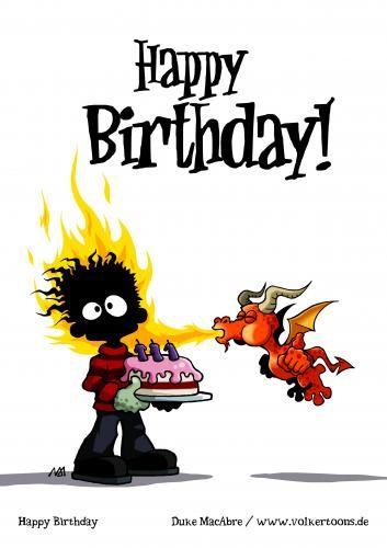 Birthday clipart dragon :  on birthday pics