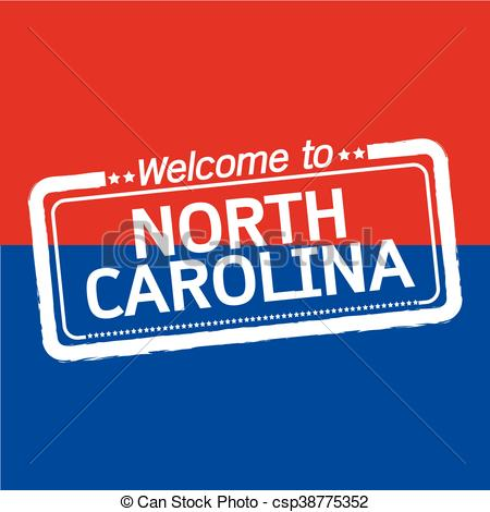 North Carolina clipart Of State of NORTH of