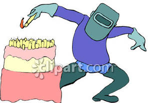 Welder clipart funny Lighting Torch Clipart Royalty Cake