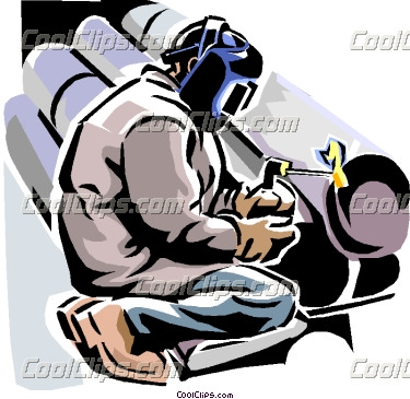 Welding clipart protective clothing  Clipart Welder Pipe