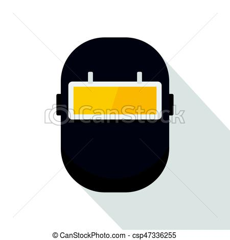 Welding clipart icon Mask  of flat Welding