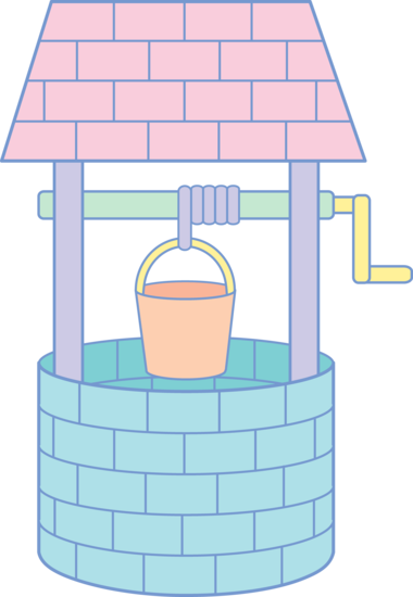 Well clipart Clip Cute Pastel Wishing Well