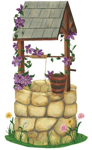 Wishing Well clipart stone well And best on this clipart